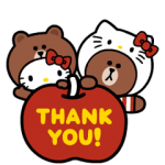 【半額セール】LINE FRIENDS & HELLO KITTY スタンプ(2018年02月20日AM10:59まで)