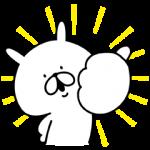 【限定無料スタンプ】ゆるうさぎ×洋服の青山コラボスタンプ誕生 スタンプを実際にゲットして、トークで遊んでみた。