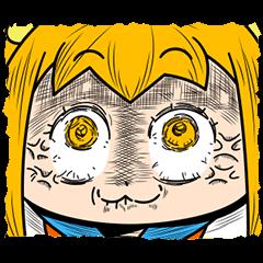 【人気スタンプ特集】うごくポプテピピック3 スタンプを実際にゲットして、トークで遊んでみた。