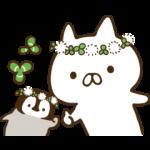 【人気スタンプ特集】ねこぺん日和(春の日) スタンプを実際にゲットして、トークで遊んでみた。