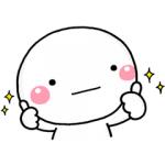 【LINE無料スタンプ速報:隠し】しろまる×ミツカン スタンプ(2018年04月02日まで)