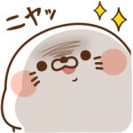 【LINE無料スタンプ速報】毒舌あざらし×ダイレクトテレショップ スタンプ(2018年04月09日まで)
