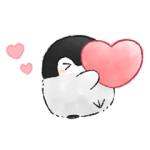 【LINE無料スタンプ速報:隠し】コウペンちゃん×ルトロン スタンプ(2018年04月09日まで)