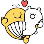 【LINE無料スタンプ速報】宝くじクーちゃん×ガーリーくまさん スタンプ(2018年04月16日まで)