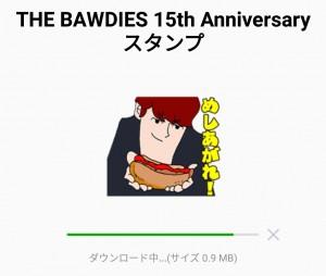 【人気スタンプ特集】THE BAWDIES 15th Anniversaryスタンプを実際にゲットして、トークで遊んでみた。 (2)