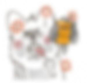 【LINE無料スタンプ予報】かわいい犬とトリのコンビのスタンプ♪ (4)