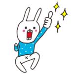 【LINE無料スタンプ速報】「カルピスウォーター」×ウサギのウ― スタンプ(2018年05月21日まで)