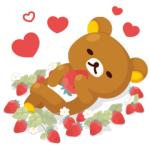 【LINE無料スタンプ速報:隠し】LINE プレイ × リラックマ スタンプ(2018年05月24日まで)