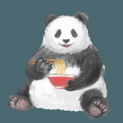【人気スタンプ特集】悪いこと言うパンダ スタンプを実際にゲットして、トークで遊んでみた。