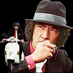【人気スタンプ特集】松田優作 探偵物語サウンドスタンプを実際にゲットして、トークで遊んでみた。
