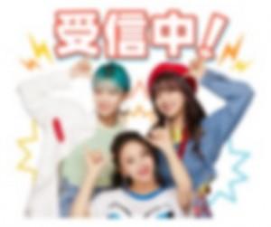 【LINE無料スタンプ予報】大人気のアイドルグループの無料スタンプが近日登場♡ (2)