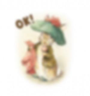 【LINE無料スタンプ予報】世界一有名なうさぎの無料スタンプが間もなく登場♪ (3)