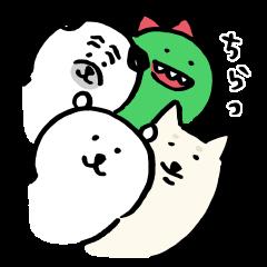 【限定無料スタンプ】ナガノ × LINEショッピング スタンプを実際にゲットして、トークで遊んでみた。