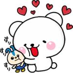 【LINE無料スタンプ速報】【第8弾】しろくまさん×レオパリスくん スタンプ(2018年09月10日まで)
