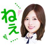 【LINE無料スタンプ速報:隠し】LINE Clova実験室×乃木坂46 スタンプ(2018年10月27日まで)