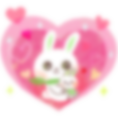 【LINE無料スタンプ予報】癒し系うさぎちゃんの新作スタンプが間もなく登場☆ (1)