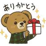 【LINE無料スタンプ速報】第五弾 ポロ ベアスタンプ(2018年12月24日まで)