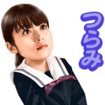 【LINE無料スタンプ速報:隠し】「koToro_」主演:今田美桜 スタンプ(2019年01月19日まで)