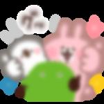 【LINE無料スタンプ予報】ほわほわ&ゆるゆるのコラボスタンプ☆