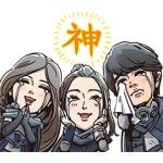 【LINE無料スタンプ速報】新CM「ギガ国」ボイス付きスタンプ(2019年04月01日まで)