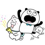 【LINE無料スタンプ速報】ごきげんぱんだ×プロたん&サリー スタンプ(2019年05月27日まで)