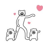 【LINE無料スタンプ速報】けたたましく動くクマ×クロックス スタンプ(2019年05月06日まで)