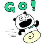 【LINE無料スタンプ速報】ごきげんぱんだ×SHOPPING GO スタンプ(2019年06月12日まで)