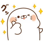 【LINE無料スタンプ速報:隠し】毒舌あざらし×サントリー スタンプ(2019年08月12日まで)