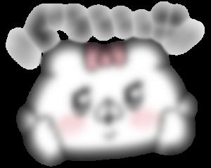 【LINE無料スタンプ予報】かわいいくまガールの新作スタンプ☆