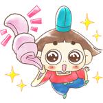 【LINE無料スタンプ速報:隠し】LINE パズル タンタン×おじゃる丸 スタンプ(2019年07月22日まで)