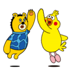 【LINE無料スタンプ速報:隠し】動く♪星プロ&ポインコ コラボスタンプ(2019年11月11日まで)