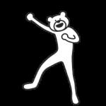 【限定無料スタンプ】選べるニュース×けたたましく動くクマ スタンプを実際にゲットして、トークで遊んでみた。