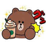 【LINE無料スタンプ速報】スターバックス コラボスタンプ(2019年10月21日まで)