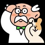 【限定無料スタンプ】やんちゃイヌ(助手)とポイント博士 スタンプのダウンロード方法とゲットしたあとの使いどころ