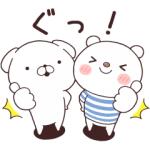 【LINE無料スタンプ速報】いぬまっしぐら×ニトリのシロクマ スタンプ(2020年03月09日まで)