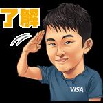 【限定無料スタンプ】Team Visa アスリートスタンプのダウンロード方法とゲットしたあとの使いどころ