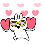 【LINE無料スタンプ速報】うさぎゅーん!× LINE証券 スタンプ(2020年05月20日まで)