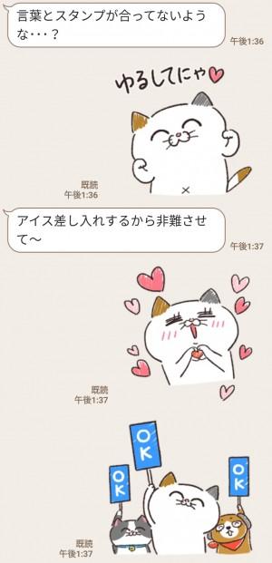 【限定無料スタンプ】いつも近くに♪タマ川ヨシ子(猫)第21弾 スタンプのダウンロード方法とゲットしたあとの使いどころ (6)