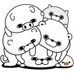 【LINE無料スタンプ速報:隠し】うさぎ100%と仲間たち スタンプ(2020年06月25日まで)