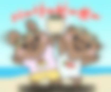 【LINE無料スタンプ予報】夏を100%楽しむ方法 (4)