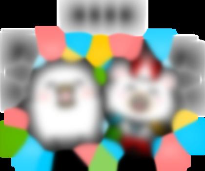 【LINE無料スタンプ予報】クマとトリの異色コンビ誕生☆ (2)