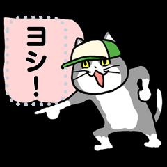 【限定無料スタンプ】LINEバイト×仕事猫 スタンプのダウンロード方法とゲットしたあとの使いどころ