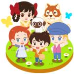 【LINE無料スタンプ速報:隠し】世界名作劇場 × LINEポコポコ スタンプ(2020年08月10日まで)