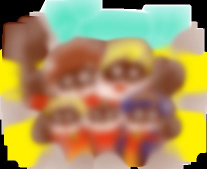 【LINE無料スタンプ予報】人気キャラクター大集合の無料スタンプ☆ (4)