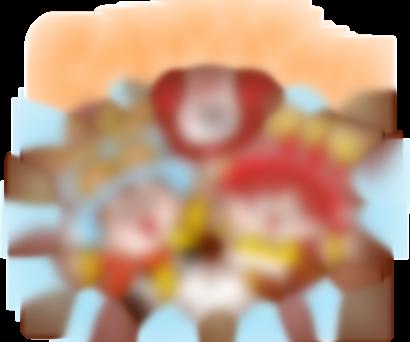 【LINE無料スタンプ予報】人気キャラクター大集合の無料スタンプ☆ (1)