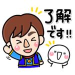 【LINE無料スタンプ速報】動く!しろまる×Jくん&ユメット スタンプ(2020年10月26日まで)