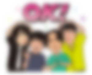 【LINE無料スタンプ予報】只今大注目の人気ロックバンドがスタンプに☆ (1)