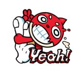 【LINE無料スタンプ速報:隠し】モンスト7thこの指とまりやがれスタンプ(2021年01月06日まで)