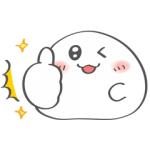 【LINE無料スタンプ速報】おもちちゃん×ドモにゃんくる スタンプ(2020年12月21日まで)