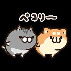 【隠し無料スタンプ】お試しボンレス犬とボンレス猫 スタンプのダウンロード方法とゲットしたあとの使いどころ
